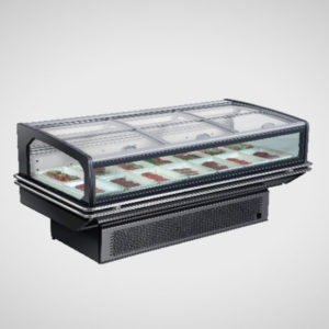 18XG Fresh meat display chiller with lid