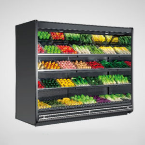 18S3 Air Curtain Display Cabinet Chiller