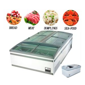 Horizontal Display Freezer