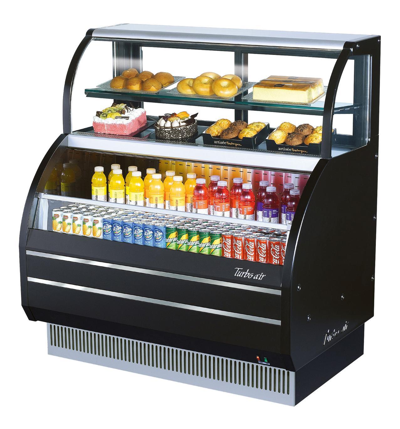 Open Display Refrigerator